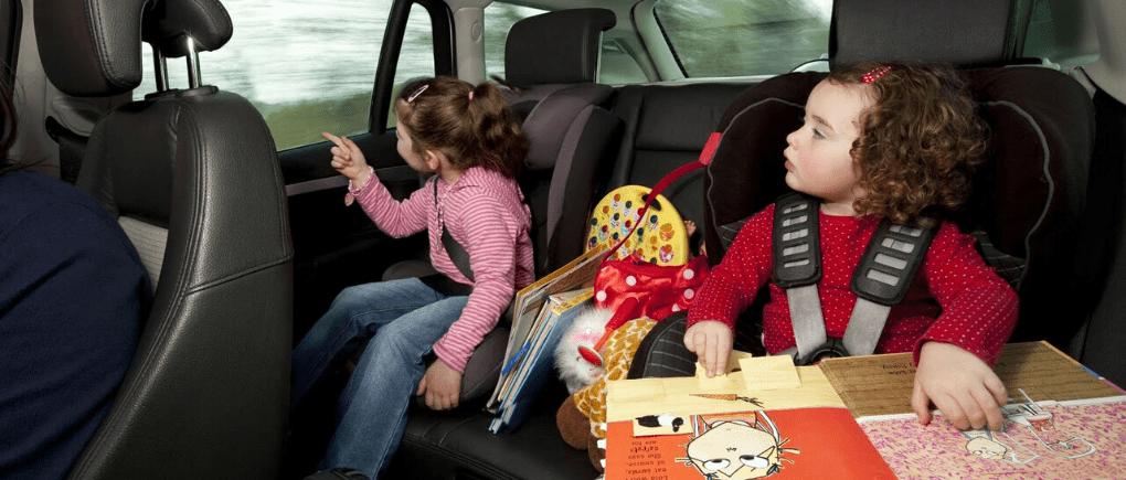 Un gran viaje por carretera con los niños.