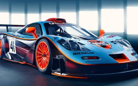 El McLaren F1 GTR es la perfección