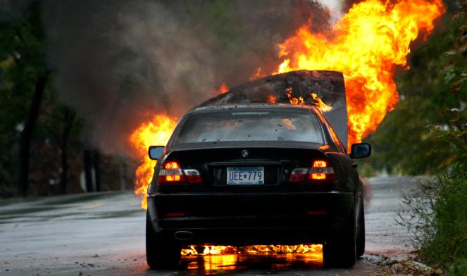Cobertura de seguros contra incendios de auto